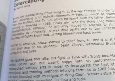 Article on JKD & a bio of myself (2)