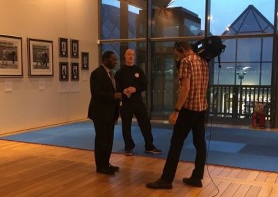 Demo for the Bruce Lee exhibition ITV Sport February 2017
