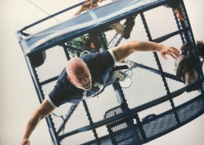 July 2017 Bungee Jump raising money for cancer
