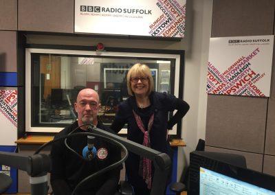 Lesley Dolphin BBC Radio Suffolk